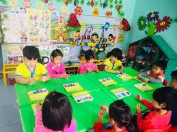 Giờ hoạt động góc của các bé lớp 5 Tuổi A Trường Mầm Non ...