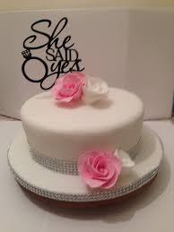 She Said Yes Engagement Cake My Cakes Cakes