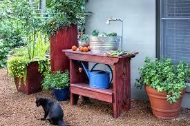 outdoor sink ideas station garden sinks