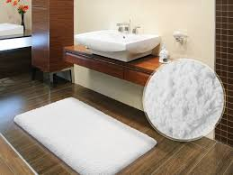 Thick Bathroom Rugs Sky Bath Mats Snow White Available In 6 Sizes
