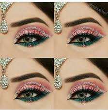 afshii majid bright ideas glitter eye makeup rage bridal makeup makeup tips