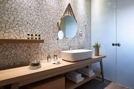 terrazzo carrara bathroom
