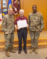 Volunteers earn presidential award for devotion to patients, staff    Article   The United States Army