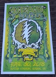 Dead Company Poster 6 30 18 Autzen Stadium Eugene John