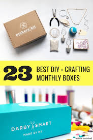 24 best diy hobby and craft subscription boxes urban tastebud for diy craft