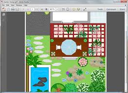 Small Picture Garden Design Templates for PDF