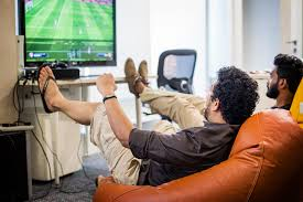 fun office ideas. bean bags and xbox fifa for breaks directi office fun ideas s