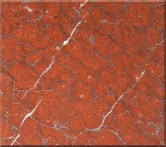 Marble Floor Tile Features Brown Leather Comfy Sofa And Beige Red Red Marble Floors