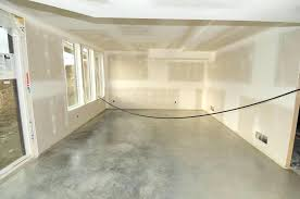 image of basement concrete floor paint removal sealer over introduction