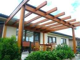 tags plans build a pergola attached to house