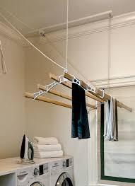laundry room drying rack transitional crisp inside prepare 11