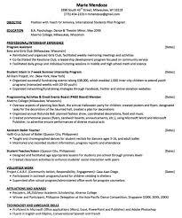 Teach For America Resume Sample Http Exampleresumecv Org Teach