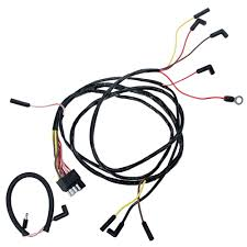 mustang engine gauge wire v8 1966 cj pony parts engine gauge feed wiring harness v8 1966