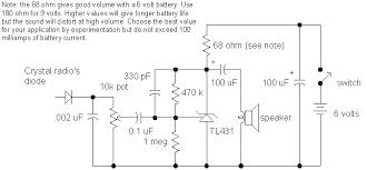 audio amplifiers schematic