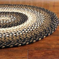 5x7 oval braided rugs for sunflower rug circle small fl round area