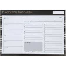 Otto <b>A4 Magnetic Weekly</b> To Do List Business Goals | Officeworks
