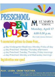 Preschool Open House Flyer Rome Fontanacountryinn Com