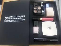 image is loading new chanel makeup set shadow foundation blush gloss