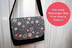 Messenger Bag Pattern Best Kidsized Messenger Bag Free Pattern And Sewing Tutorial Merriment