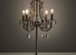 crystal drop chandelier table lamp with drum shade black style chandeliers design awesome home lighting f