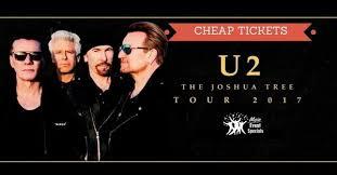 2017 U2 Joshua Tree Tour Buy Cheap Concert Tickets On