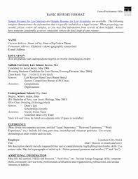 How To Write Simple Resume Format Sample An Effective Template