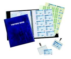 Office Guest Book Durable Visitors Book With 100 Inserts 1463 00 Dgos Your