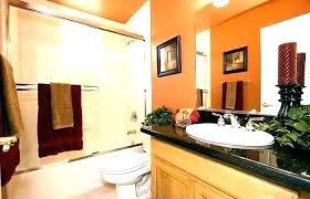 burnt orange bathroom set zebra bathroom decorating ideas orange bathroom decor burnt orange bathroom accessories chocolate burnt orange bathroom