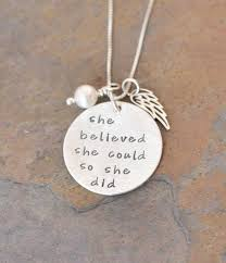 she believed she could so she did hand sted necklace