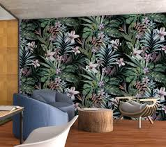 Botanisch Peel En Stick Behang Moonwallstickerscom