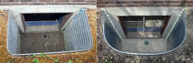 window well drainage. B.O.C.A. Window Well Drainage E