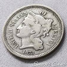 3 Cent Piece Value Chart Nickel Three Cent Price Charts Coin Values