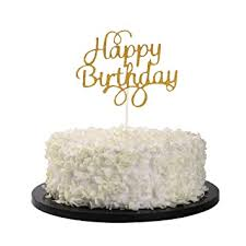 Alyson wyers — february 3, 2015 — lifestyle. Sunny Zx Gold Glitter Happy Birthday Cake Cupcake Smash Candle Alternative Party Handmade Amazon In Toys Games