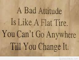 Bad Attitude Quotes Mesmerizing A Bad Attitude Quote On Picture