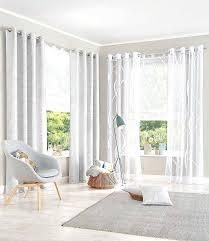 Fensterdeko Wohnzimmer Modern Genial