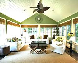ceiling fan direction for vaulted ceilings fans sloped best directio