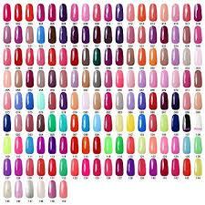 Nail Color Chart Amazon Com Gellen Soak Off Uv Gel Nail Polish 300 Colors
