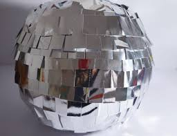 Disco Ball Decorations Cheap Magnificent Disco Ball Decoration Or Pinata DIY Made From Cardboard And Silver Paper