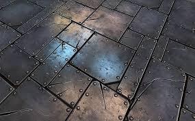 Metal floor tiles Hammered Metal Metal Plate Tile 01 Metal Creative Market Metal Plate Tile 01 Metal Textures Creative Market
