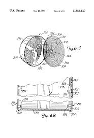 patent us5348447 improved fan housing easy access google patent drawing