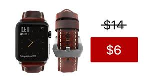 get apple watch leather bands in six diffe colors for just 6 a piece usually 14