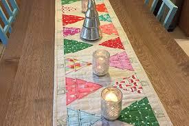 christmas table runner and table cloth