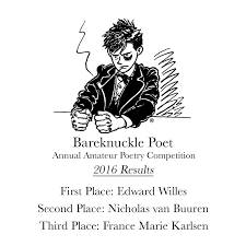 bareknuckle poet annual poetry petition 2016 beautiful how is a raven like a writing desk