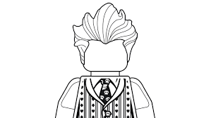 Joker Coloring Pages Lego The Batman Movie Legocom Us