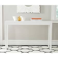 white console table with drawer. Safavieh Home Collection Kayson White Console Table With Drawer D