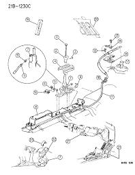 1994 chrysler lebaron gtc controls gearshift floor shaft diagram 00000cqk