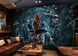wallpaper murals super spider man 3d