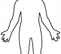 Human Body Outline Printable Free Download Best Human Body