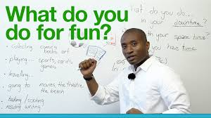 What Do You Like To Do For Fun Learn English What do you do for fun YouTube 1