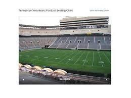 Tennessee Volunteers Football Seating Chart 2018 Tennessee Ut Volunteer Football Season Tickets 2